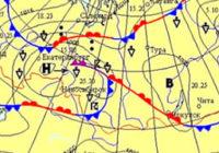 Антициклон на карте